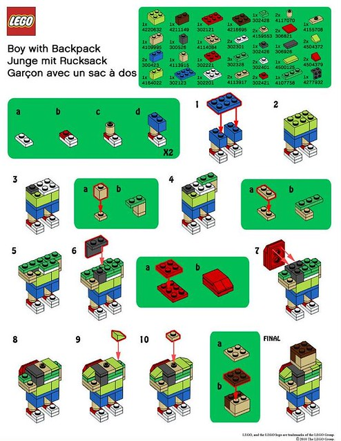 Lego Instructions Flickr