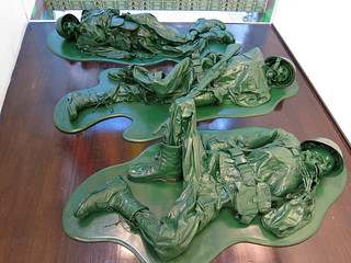 Dead Plastic Green Army Men | by Scott Beale