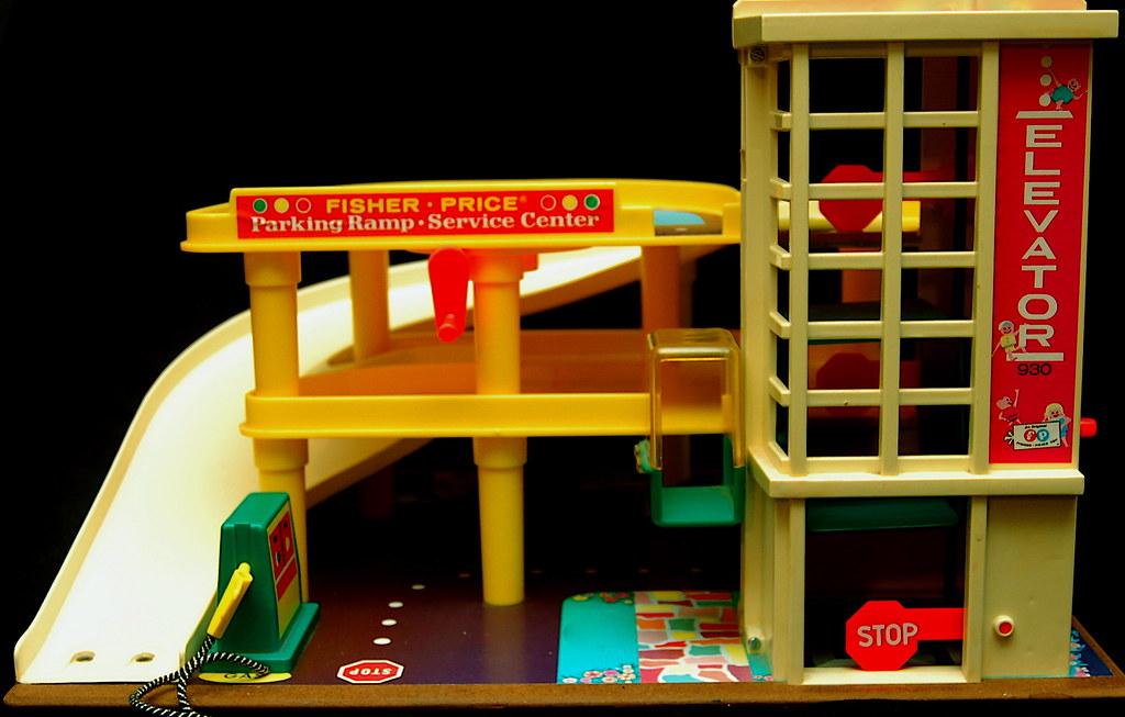 fisher price little people parking garage scott sherwood flickr. Black Bedroom Furniture Sets. Home Design Ideas