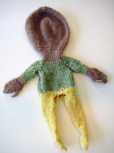 doll, unfelted | by Fawn Pea