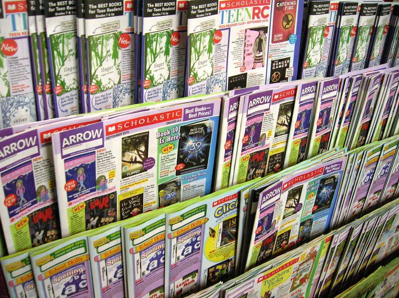 how to order scholastic books