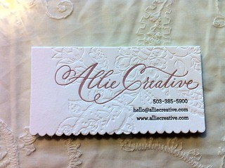 business card | by alliecreative