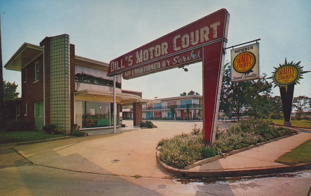 The Cardboard America Motel Archive Dill 39 S Motor Court