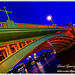 London - Night Colors of Southwark Bridge
