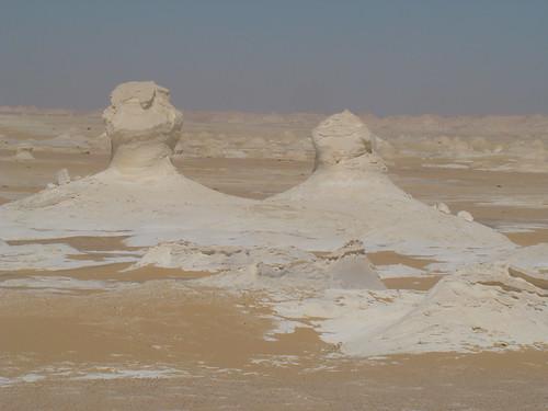 Roca fungiforme o en seta - White Desert (Egipto) - 06