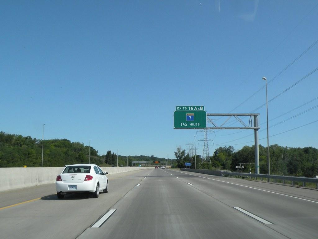 Interstate 494 Minnesota Northbound In Hennepin County