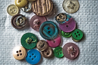 Rainbow of Buttons | by Kirsty Andrews