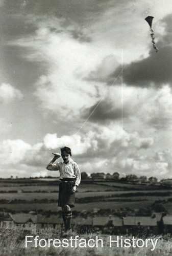 Boy With His Kite FH | by Fforestfach History