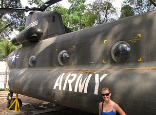 War Remnants Museum - Ash Next To CH-47 American Chinook Dual Rotor Helicopter - v2 | by FollowOurFootsteps