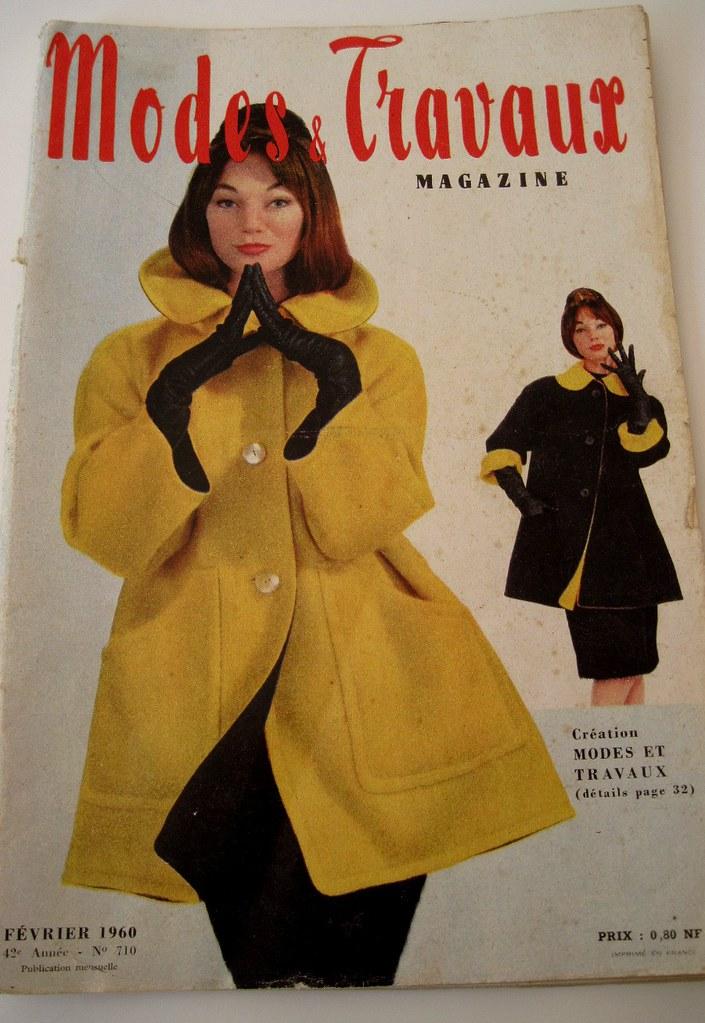 Modes et travaux february 1960 french fashion magazine for Magazine maison et travaux