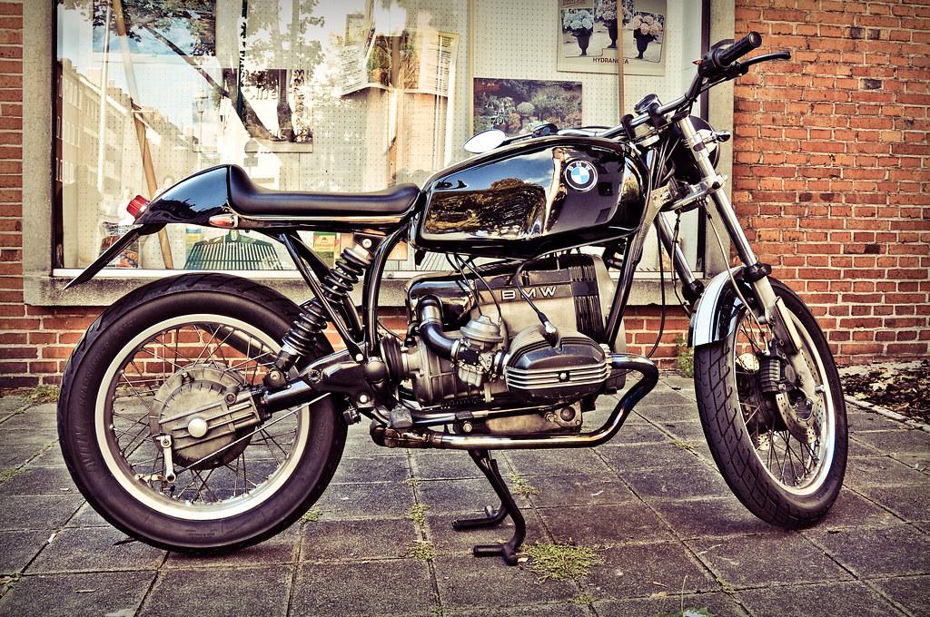 An Old School Bmw Bike Love It D Albertizeme Flickr