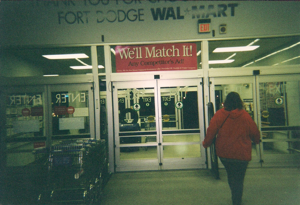 wal mart fort dodge iowa automatic doors in 2002 flickr. Cars Review. Best American Auto & Cars Review