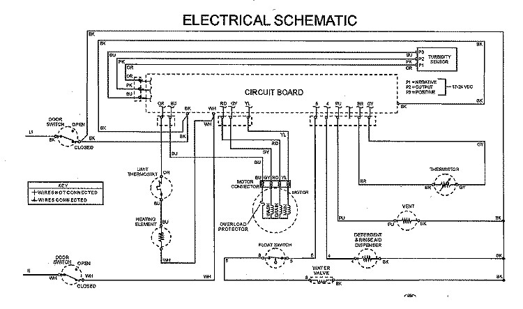 semi automatic washing machine circuit diagram maytag mdb7100awb dishwasher schematic | samurai appliance ...