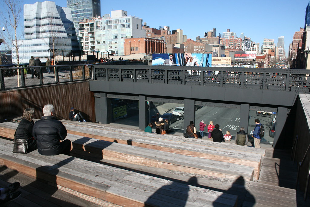 Urban Theater At The High Line Stadium Seating In The