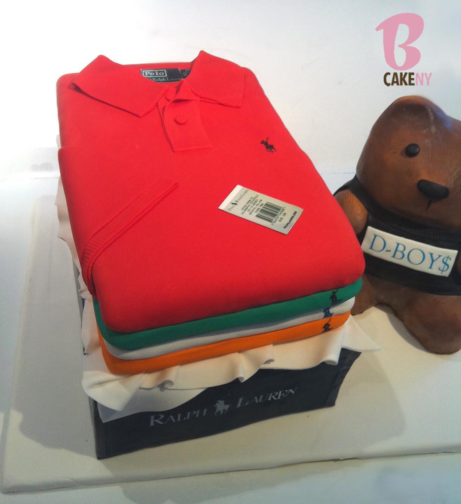 Ralph Lauren Polo Baby Shower Cakes
