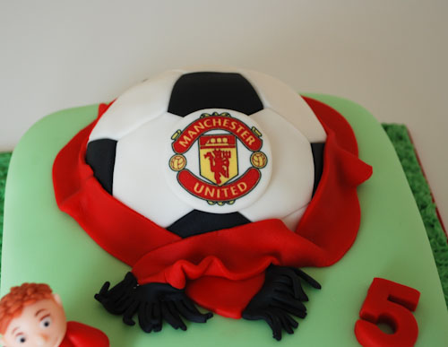 Manchester united football birthday cake visit me and LIKE Flickr