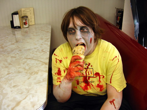 Zombies Eat Ice Cream | by Amy Loves Yah