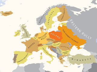 Europe According to Poland | by alphadesigner