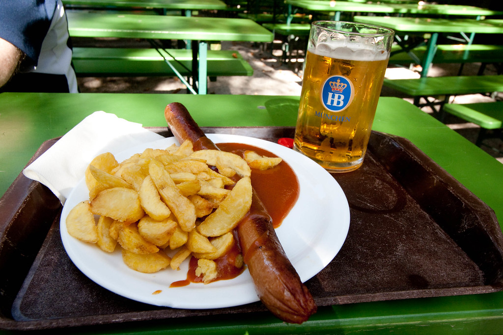 currywurst and bier andy oakley flickr. Black Bedroom Furniture Sets. Home Design Ideas