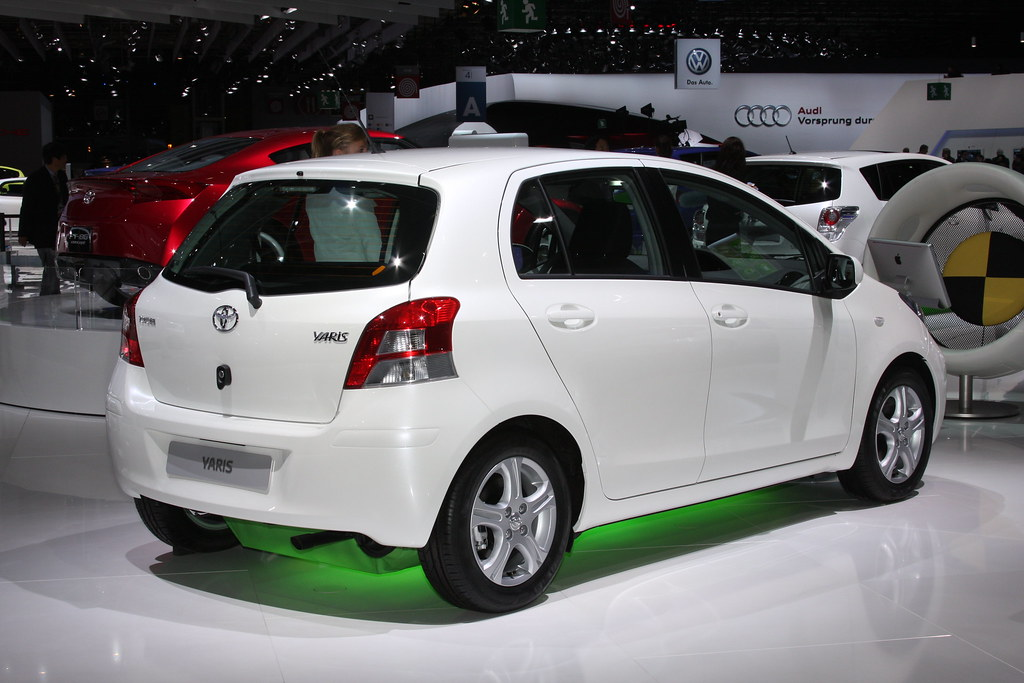 toyota at the paris motor show 2010 yaris all the highlig flickr. Black Bedroom Furniture Sets. Home Design Ideas