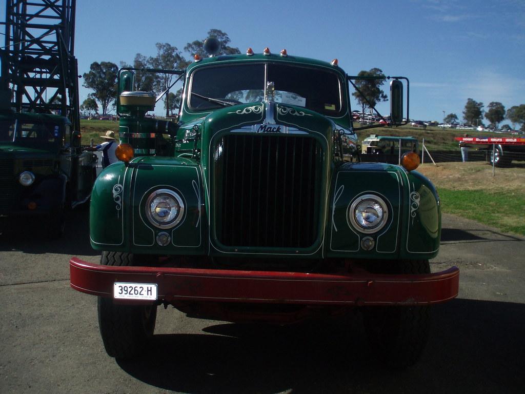 B 61 Mack Thermodyne : Mack b thermodyne prime mover