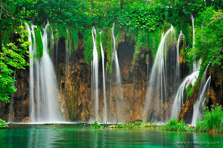 Plitvice waterfalls | by evimagery