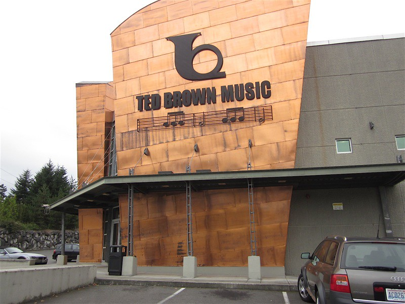 ted brown music tacoma store it 39 s been open for 9 years flickr