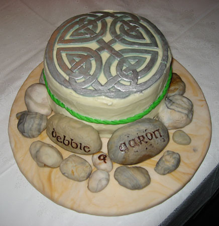 Good Celtic Knot Cake My Boyfriend Commissioned A