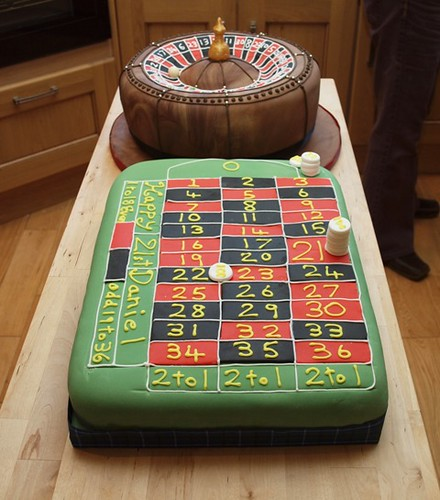 Roulette Cake Ideas