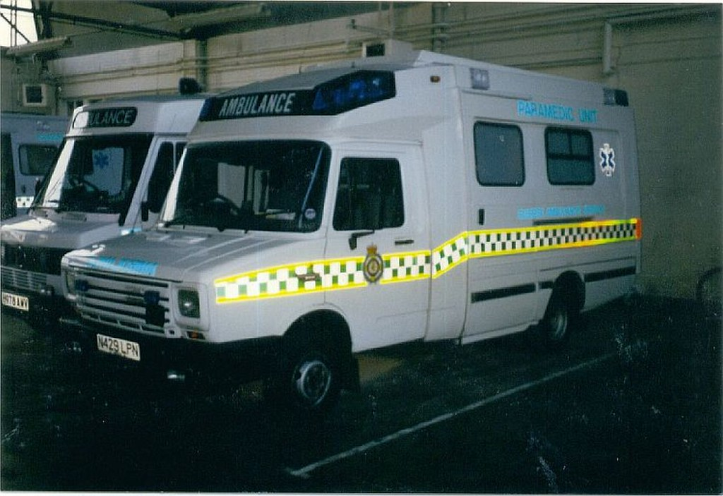 Hastings And Hastings >> LDV Sherpa / Customline, Sussex Ambulance | Hastings ...