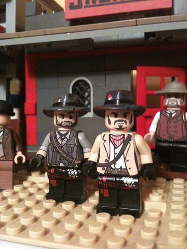 Lego Red Dead Redemption John Marston And Son John Marston Flickr