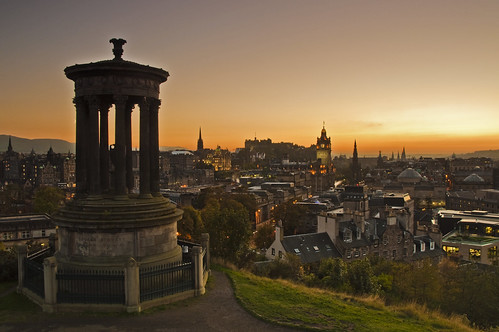 Calton Hill Sunset 11 October 2010 - Explored | by Grant_R