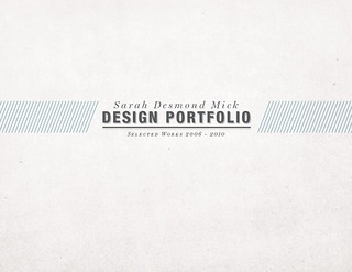 Portfolio Design | by SarahMick