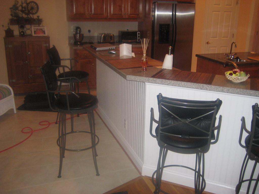 Kitchen Chair Rail Colors