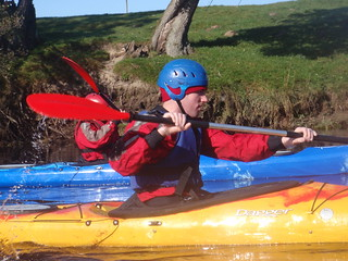 kayak touring on river spey 11 oct with full on adventure at Rothiemurchus | by Full On Adventure