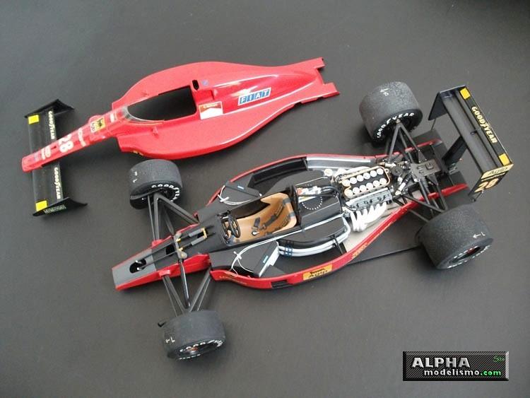 Ferrari F189 Nigel Mansell Tamiya 1 20 Domalpha Flickr