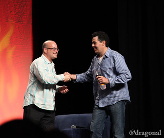 Rob Barnett and Adam Carolla | by dragonal