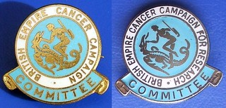 British Empire Cancer Campaign Committee - fund raising badges (pre & post-1963) | by RETRO STU