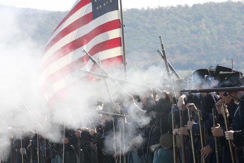 Antietam Battlefield Reenactment Antietam Battlefield vi