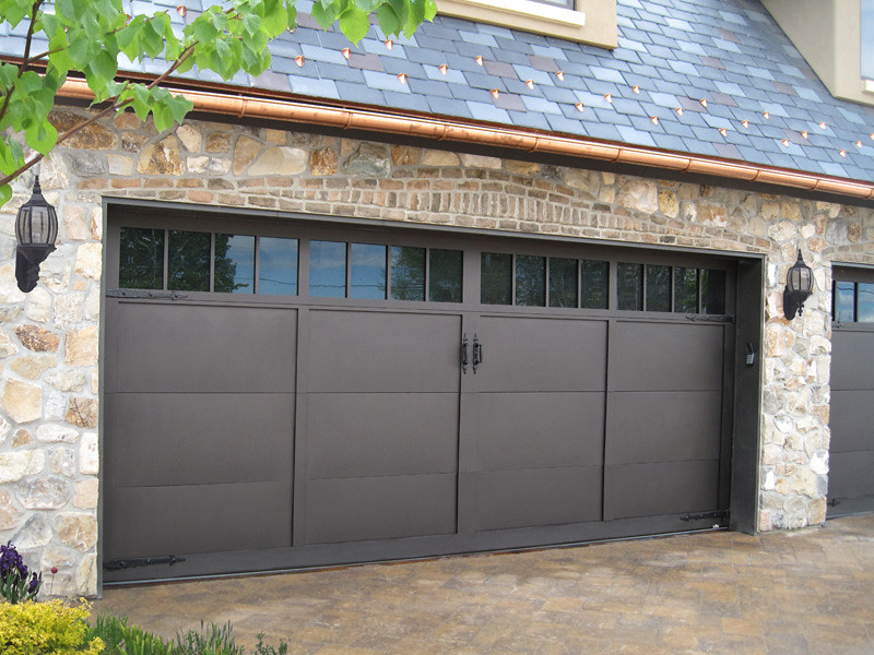 Garage Doors Carriage House Desert Bronze Finish