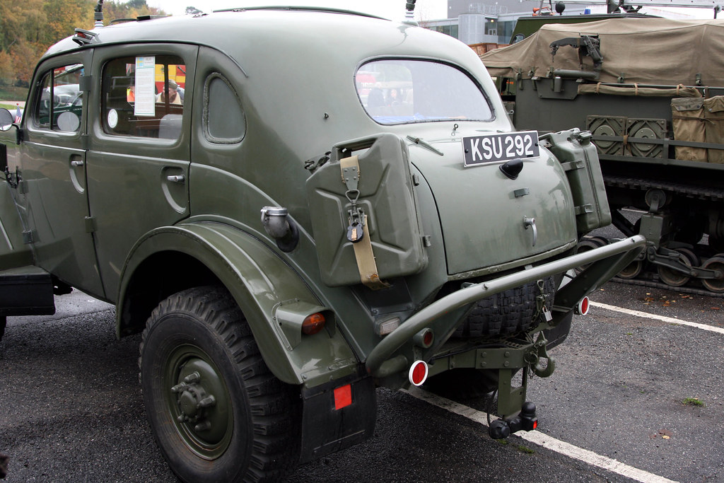 Brooklands Museum Military Vehicles Day - 1956 Volvo TP21 … | Flickr