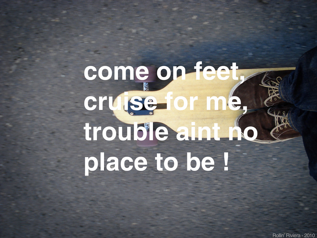 Come On Feetlongboard Wallpaper With Helvetica  Lyrics