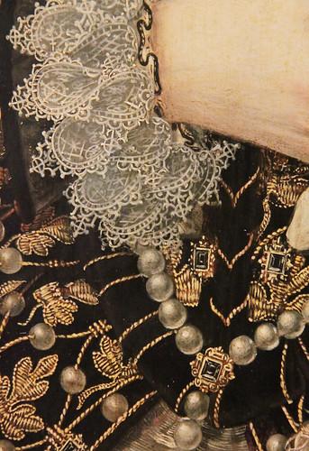 Queen Elizabeth 1 Jewelry Jewellery detail of queen