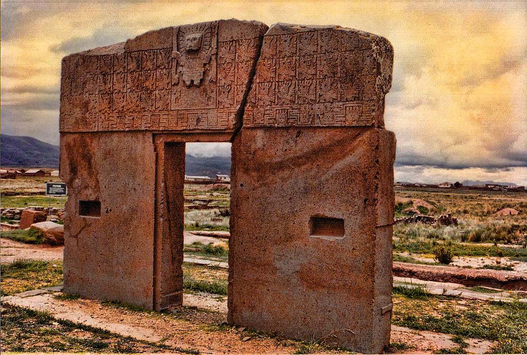 Puerta del sol la paz bolivia la portada del sol inti for Las puertas del sol