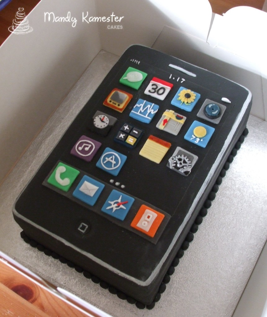 Mobile Phone Cake Designs