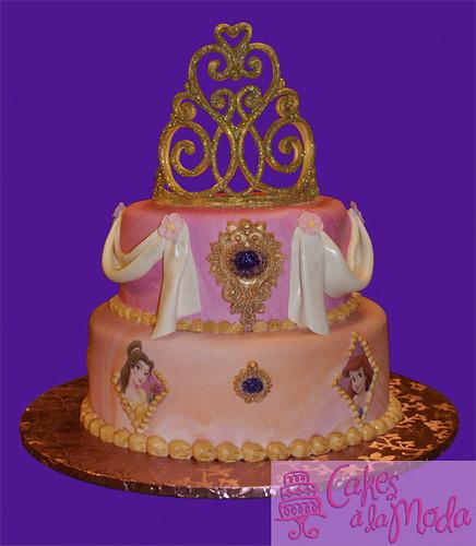 Disney Princess Cake Birthday cake for a 4 yr old ...