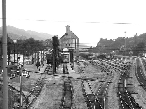 Train Yard at Bluefield West Virginia | by whitby wv