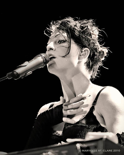 Amanda Palmer | The Dresden Dolls 11/13/10 | by maryelle st. clare