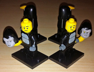 LEGO Series 3 Minifigures: Gorilla Suit Guy | by wiredforlego