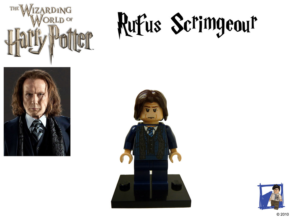 Rufus Scrimgeour | by tin7_creations Rufus Scrimgeour | by tin7_creations